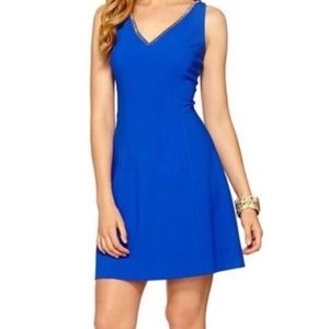Lilly Pulitzer Monica Dress in Sapphire Blue